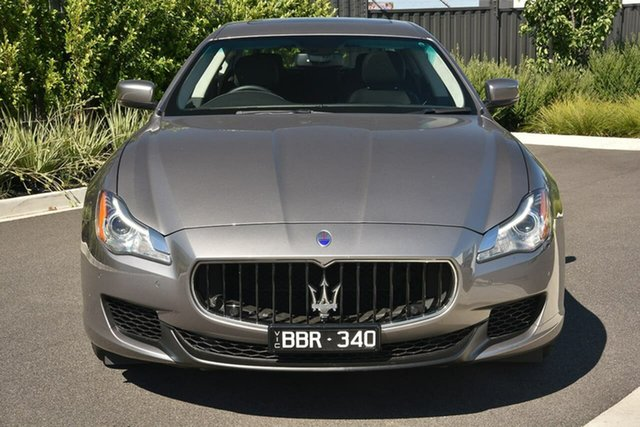 Used Maserati Quattroporte M156 MY16 Essendon Fields, 2015 Maserati Quattroporte M156 MY16 Grey 8 Speed Sports Automatic Sedan
