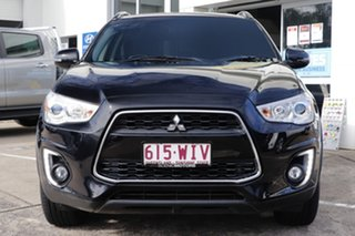 2015 Mitsubishi ASX XB MY15.5 LS 2WD Black 6 Speed Constant Variable Wagon