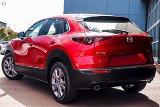 2021 Mazda CX-30 DM2W7A G20 SKYACTIV-Drive Evolve Red 6 Speed Sports Automatic Wagon