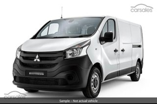 2020 Mitsubishi Express SN MY21 GLX LWB White 6 Speed Manual Van.