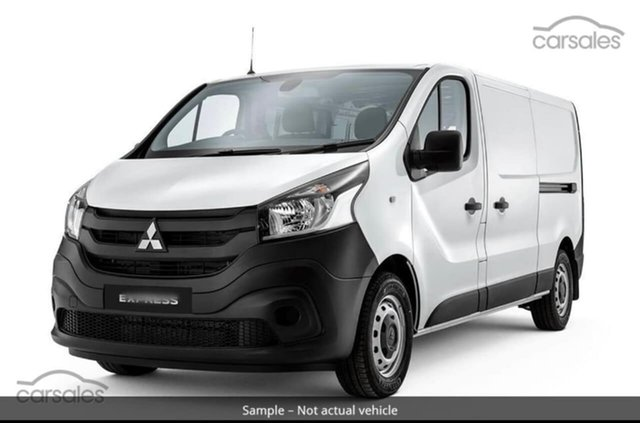 Used Mitsubishi Express SN MY21 GLX LWB Hillcrest, 2020 Mitsubishi Express SN MY21 GLX LWB White 6 Speed Manual Van