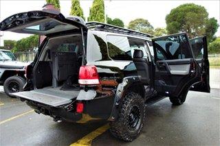 2008 Toyota Landcruiser VDJ200R GXL Black 6 Speed Sports Automatic Wagon