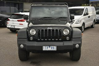 2016 Jeep Wrangler JK MY2016 Unlimited Sport Black 5 Speed Automatic Softtop.
