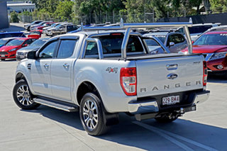 2018 Ford Ranger PX MkII 2018.00MY XLT Double Cab Ingot Silver 6 Speed Sports Automatic Utility.