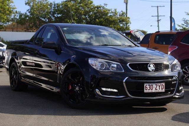 Used Holden Ute VF II MY16 SS V Ute Redline Mount Gravatt, 2016 Holden Ute VF II MY16 SS V Ute Redline Black 6 Speed Sports Automatic Utility
