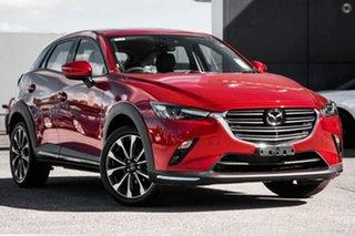 2021 Mazda CX-3 DK2W7A Akari SKYACTIV-Drive FWD Red 6 Speed Sports Automatic Wagon.
