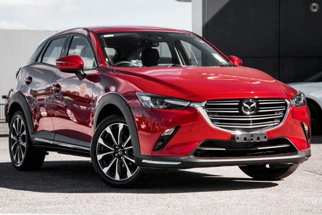 New Mazda CX-3 DK2W7A Akari SKYACTIV-Drive FWD Waitara, 2021 Mazda CX-3 DK2W7A Akari SKYACTIV-Drive FWD Red 6 Speed Sports Automatic Wagon