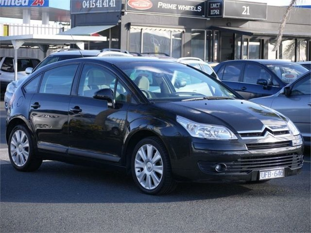 Used Citroen C4 SX Cheltenham, 2005 Citroen C4 SX Black 4 Speed Automatic Hatchback