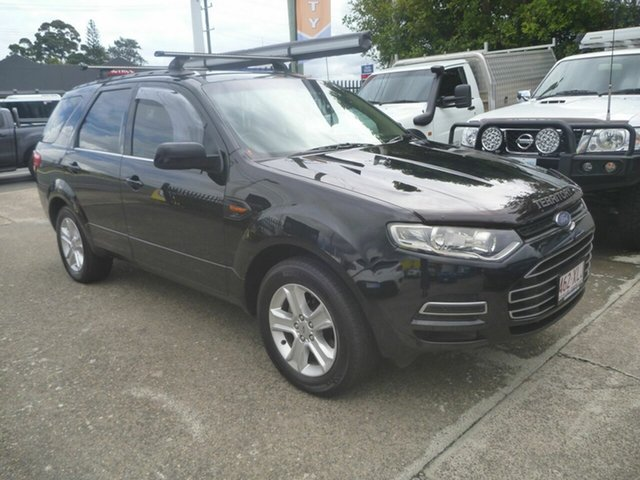 Used Ford Territory SZ TS Seq Sport Shift Morayfield, 2011 Ford Territory SZ TS Seq Sport Shift Black 6 Speed Sports Automatic Wagon
