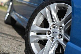 2008 Ford Falcon BF Mk II SR Blue 4 Speed Sports Automatic Sedan