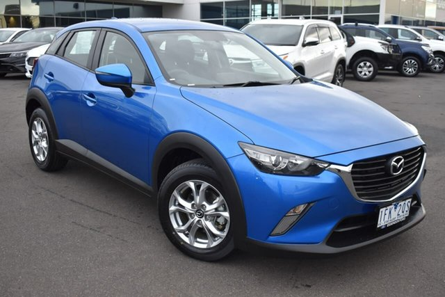 Used Mazda CX-3 DK2W7A Maxx SKYACTIV-Drive Essendon Fields, 2015 Mazda CX-3 DK2W7A Maxx SKYACTIV-Drive Blue 6 Speed Sports Automatic Wagon