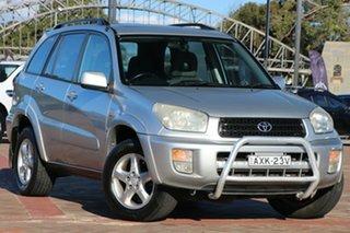 2001 Toyota RAV4 ACA21R Cruiser Silver 4 Speed Automatic SUV.