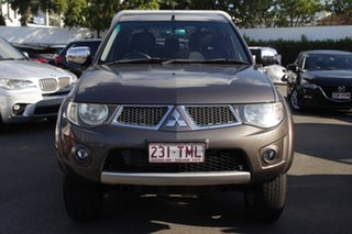 2012 Mitsubishi Triton MN MY12 GLX-R Double Cab 4x2 Brown 5 Speed Sports Automatic Utility.