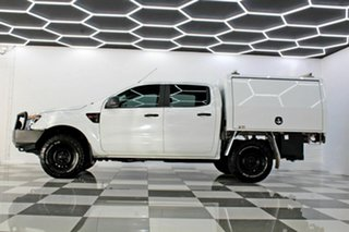 2014 Ford Ranger PX XL 3.2 (4x4) White 6 Speed Manual Dual Cab Chassis