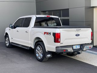 2019 Ford F150 (No Series) Lariat White 10 Speed Automatic Utility