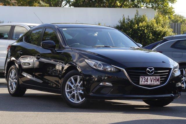 Used Mazda 3 BM5276 Maxx SKYACTIV-MT Mount Gravatt, 2014 Mazda 3 BM5276 Maxx SKYACTIV-MT Black 6 Speed Manual Sedan