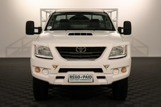 2014 Toyota Hilux KUN26R MY14 SR Glacier 5 speed Automatic Cab Chassis.