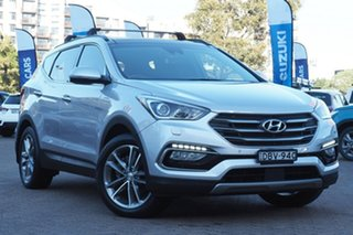 2015 Hyundai Santa Fe DM2 MY15 Highlander Silver 6 Speed Sports Automatic Wagon.