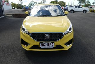 2020 MG MG3 Auto MY20 Excite (with Navigation) Yellow 4 Speed Automatic Hatchback