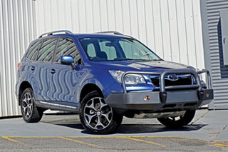 2015 Subaru Forester S4 MY15 XT CVT AWD Premium Blue 8 Speed Constant Variable Wagon.