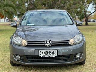 2012 Volkswagen Golf VI MY12.5 118TSI DSG Comfortline Grey 7 Speed Sports Automatic Dual Clutch.
