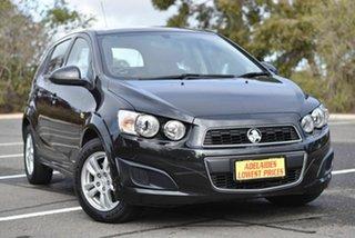 2015 Holden Barina TM MY15 CD Black 6 Speed Automatic Hatchback.