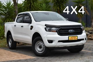 2019 Ford Ranger PX MkIII 2019.75MY XL White 6 Speed Sports Automatic Double Cab Pick Up.