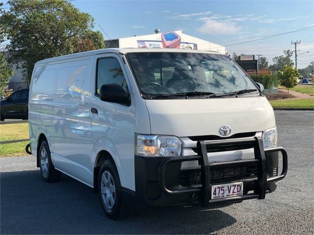 Used Toyota HiAce KDH201R Archerfield, 2015 Toyota HiAce KDH201R White 4 Speed Automatic Van