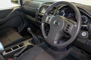 2014 Nissan Navara D40 RX Silverline SE (4x4) Silver 6 Speed Manual Dual Cab Pick-up