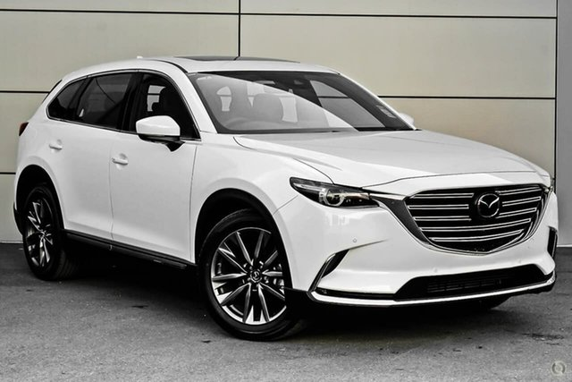 New Mazda CX-9 TC Azami SKYACTIV-Drive i-ACTIV AWD Waitara, 2020 Mazda CX-9 TC Azami SKYACTIV-Drive i-ACTIV AWD White 6 Speed Sports Automatic Wagon