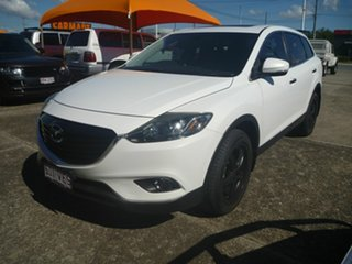 2014 Mazda CX-9 TB10A5 Luxury Activematic White 6 Speed Sports Automatic Wagon.