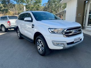 2017 Ford Everest UA Trend White 6 Speed Sports Automatic SUV.
