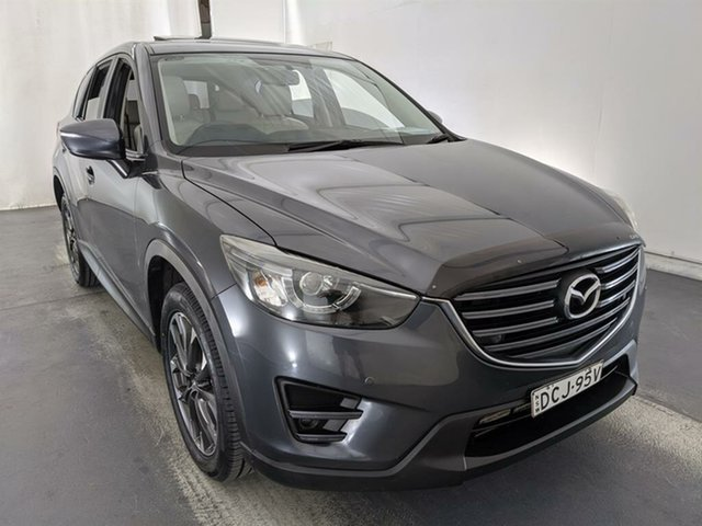 Used Mazda CX-5 KE1032 Grand Touring SKYACTIV-Drive AWD Maryville, 2015 Mazda CX-5 KE1032 Grand Touring SKYACTIV-Drive AWD Grey 6 Speed Sports Automatic Wagon