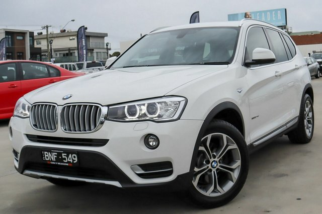 Used BMW X3 F25 LCI xDrive20d Steptronic Coburg North, 2016 BMW X3 F25 LCI xDrive20d Steptronic White 8 Speed Automatic Wagon