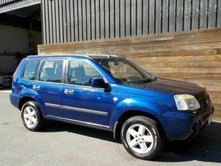 2007 Nissan X-Trail T30 II MY06 ST-S Blue 4 Speed Automatic Wagon.