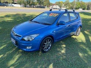 2010 Hyundai i30 FD MY11 Trophy Blue 4 Speed Automatic Hatchback.