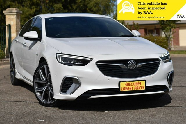 Used Holden Commodore ZB MY18 VXR Liftback AWD Enfield, 2018 Holden Commodore ZB MY18 VXR Liftback AWD White 9 Speed Sports Automatic Liftback
