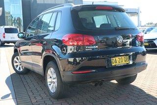 2013 Volkswagen Tiguan 5N MY14 132TSI DSG 4MOTION Pacific Black 7 Speed Sports Automatic Dual Clutch.