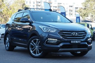 2015 Hyundai Santa Fe DM2 MY15 Highlander Grey 6 Speed Sports Automatic Wagon.