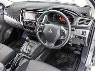 2018 Mitsubishi Triton MQ MY18 GLX Plus (4x4) Grey 5 Speed Automatic Dual Cab Utility