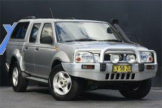 2004 Nissan Navara D22 S2 ST-R Silver 5 Speed Manual Utility.