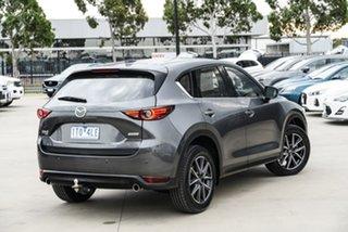 2017 Mazda CX-5 KF4WLA Akera SKYACTIV-Drive i-ACTIV AWD Grey 6 Speed Sports Automatic Wagon.