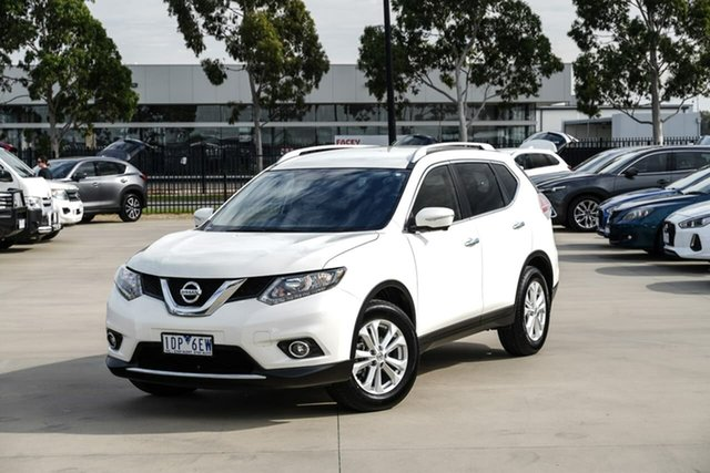 Used Nissan X-Trail T32 ST-L X-tronic 2WD Pakenham, 2014 Nissan X-Trail T32 ST-L X-tronic 2WD White 7 Speed Constant Variable Wagon