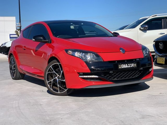 Used Renault Megane III B32 MY12 Dynamique Liverpool, 2013 Renault Megane III B32 MY12 Dynamique Red 6 Speed Manual Hatchback