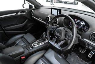 2017 Audi S3 8V MY17 S Tronic Quattro White 7 Speed Sports Automatic Dual Clutch Sedan