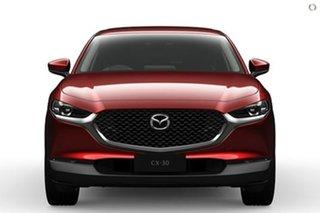 2021 Mazda CX-30 DM4WLA G25 SKYACTIV-Drive i-ACTIV AWD Touring Red 6 Speed Sports Automatic Wagon.