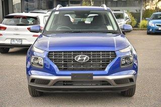 2019 Hyundai Venue QX MY20 Go Blue 6 Speed Automatic Wagon.