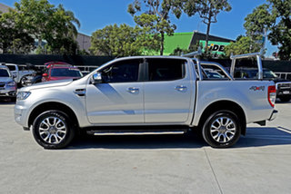 2018 Ford Ranger PX MkII 2018.00MY XLT Double Cab Ingot Silver 6 Speed Sports Automatic Utility