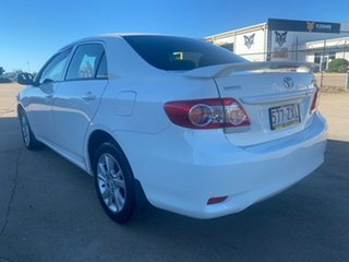 2012 Toyota Corolla ZRE152R MY11 Ascent Sport White/290212 4 Speed Automatic Sedan