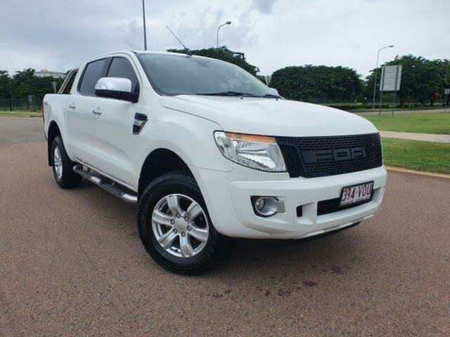 Used Ford Ranger PX XLT Double Cab Townsville, 2015 Ford Ranger PX XLT Double Cab 6 Speed Sports Automatic Utility